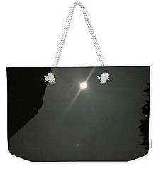 Weekender Tote Bag featuring the photograph Super Moon 3 by Karen Nicholson