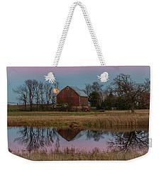 Super Moon And Barn Series #1 Weekender Tote Bag