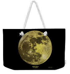 Super Moon Weekender Tote Bag