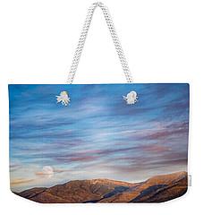 Super Moon Rise Weekender Tote Bag