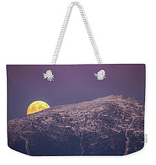 Super Moon Rising Weekender Tote Bag