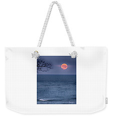 Super Moon Waning Weekender Tote Bag