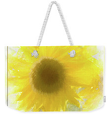 Super Soft Sunflower Weekender Tote Bag