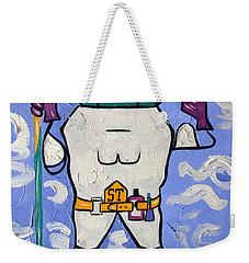 Super Tooth Weekender Tote Bag