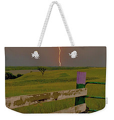 Superbolt At Melvern Lake Weekender Tote Bag