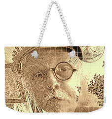 Superego, Ego, And Id Weekender Tote Bag by Tobeimean Peter