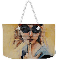 Superficially Evocative Weekender Tote Bag