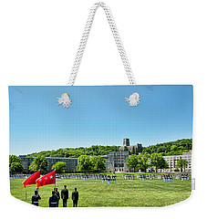 Superintendent's Review Wide Angle Weekender Tote Bag by Dan McManus