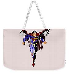 Superman - Man Of Steel Weekender Tote Bag