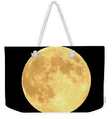 Supermoon Full Moon Weekender Tote Bag by Kyle West