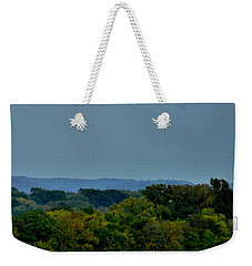 Supermoon On The Mississippi Weekender Tote Bag