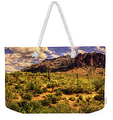 Superstition Mountain And Wilderness Weekender Tote Bag