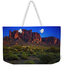 Superstition Mountain Sunset Weekender Tote Bag