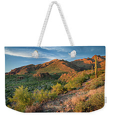 Superstitions At Dusk Weekender Tote Bag