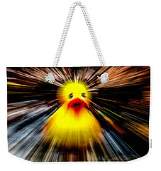 Supper Duck Weekender Tote Bag by Ken Frischkorn
