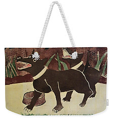 Suppertime Weekender Tote Bag