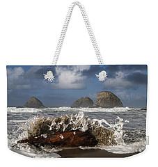 Surf And Three Arch Rocks Weekender Tote Bag