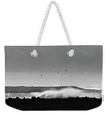 Surf Birds Weekender Tote Bag