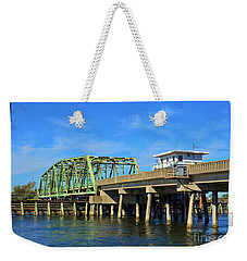 Surf City Bridge - 1 Weekender Tote Bag