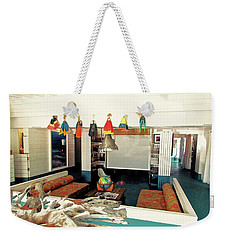 Surf House Interior Weekender Tote Bag