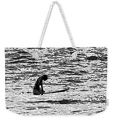 Surf Meditation Weekender Tote Bag