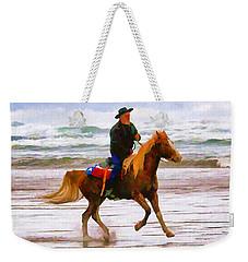 Surf Rider Weekender Tote Bag