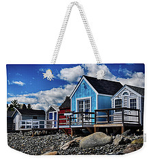 Surf Shacks Weekender Tote Bag