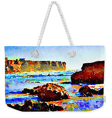Surf The Headlands Weekender Tote Bag