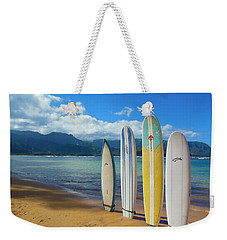 Surfboards Beach Collection Weekender Tote Bag