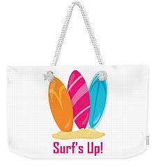 Surfer Art - Surf's Up Surfboards Weekender Tote Bag