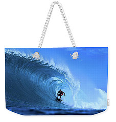 Weekender Tote Bag featuring the photograph Surfer Boy by Movie Poster Prints