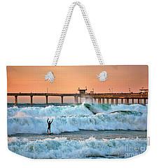 Surfer Celebration Weekender Tote Bag