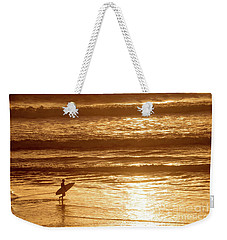 Surfer Weekender Tote Bag by Delphimages Photo Creations