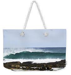 Weekender Tote Bag featuring the photograph Surfers Point by Angela DeFrias