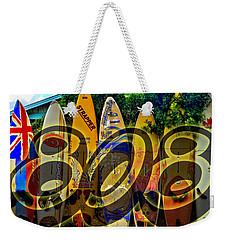 Surfin' 808 Weekender Tote Bag by DJ Florek