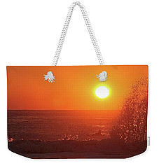 Surfing And Splashing Weekender Tote Bag