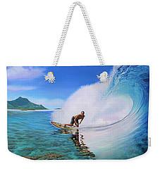 Surfing Dan Weekender Tote Bag