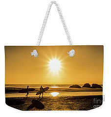 Surfing Safari Weekender Tote Bag by Mitch Shindelbower