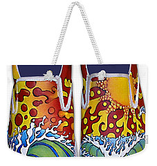 Surf's Up Weekender Tote Bag