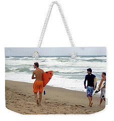 Surfs Up Boys Weekender Tote Bag
