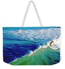 Surfs Up Daytona Beach Weekender Tote Bag