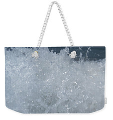 Weekender Tote Bag featuring the photograph Surf's Up by Esther Newman-Cohen