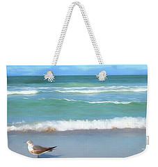 Surfs Up Weekender Tote Bag