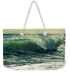 Weekender Tote Bag featuring the photograph Surf's Up by Laura Fasulo