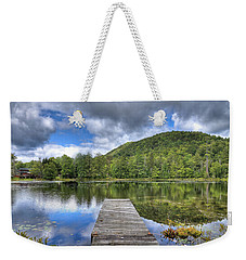 Weekender Tote Bag featuring the photograph Surprise Pond At Palmer Point by David Patterson