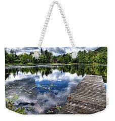 Weekender Tote Bag featuring the photograph Surprise Pond by David Patterson
