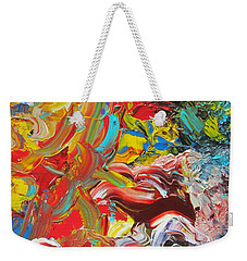 Surprise Weekender Tote Bag