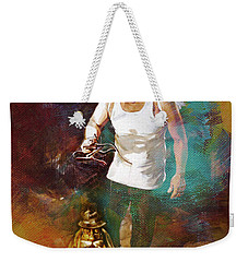 Weekender Tote Bag featuring the painting Surreal Art  by Gull G