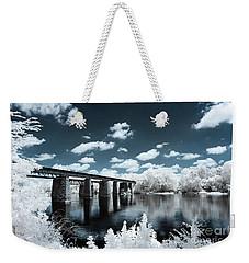 Surreal Crossing Weekender Tote Bag
