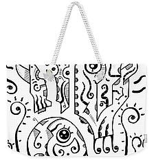 Surrealism Eyes Weekender Tote Bag